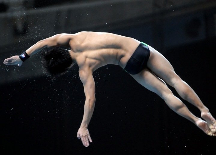 Delhi 2010 Diving, England's Tom Daly
